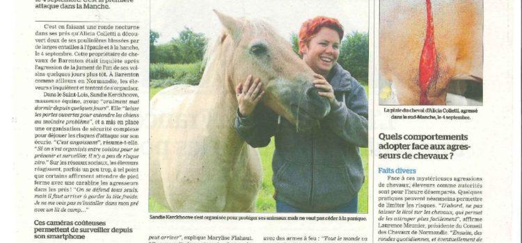 Article de Presse – La Manche Libre – Septembre 2020